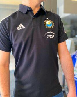 Koszulka adidas polo – czarna