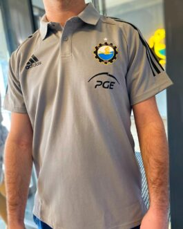 Koszulka adidas polo – szara