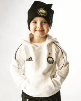 Biała bluza Adidas dziecięca