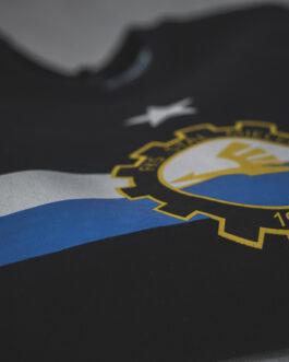 Czarna bluza z herbem FKS Stal Mielec