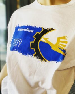 Biały t-shirt FKS Stal Mielec