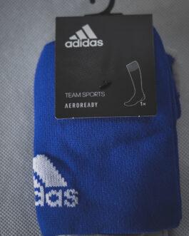Długie getry Adidas niebieskie