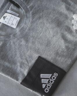 Koszulka bawełniana treningowa Adidas FKS Stal Mielec (szara)