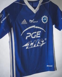 Koszulka meczowa dziecięca Adidas FKS Stal Mielec niebieska