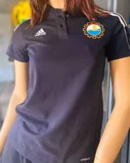 Koszulka Polo Tiro21 Adidas damska czarna FKS Stal Mielec