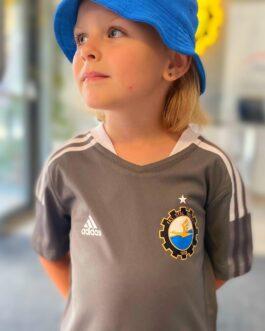 Koszulka adidas TIRO21 dziecięca szara FKS Stal Mielec