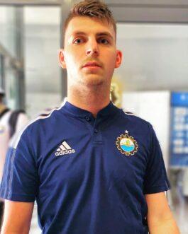 Koszulka polo adidas TIRO21 granatowa FKS Stal Mielec