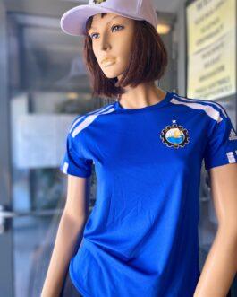 Koszulka piłkarska adidas Squadra21 Jersey damska niebieska FKS Stal Mielec