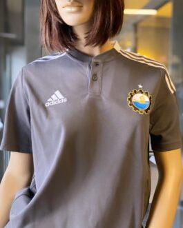 Koszulka polo adidas TIRO21 szara FKS Stal Mielec