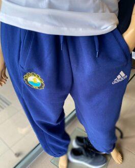 Spodnie dresowe adidas FKS Stal Mielec granatowe