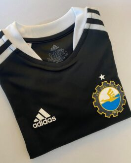 Koszulka adidas TIRO21 dziecięca czarna FKS Stal Mielec