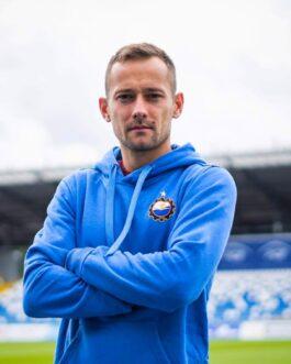 Bluza niebieska FKS Stal Mielec